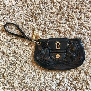 Juicy Couture Leather Clutch Bag Purse